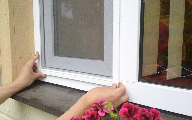 Komarnik za okna