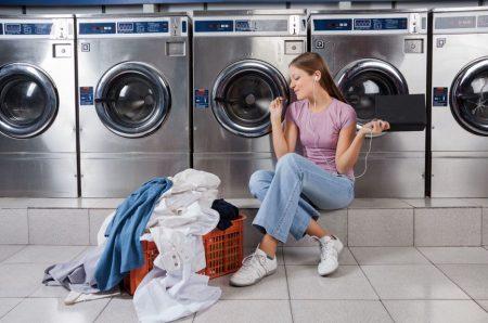 Samopostrežna pralnica perila