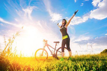 Ženska in kolesarjenje